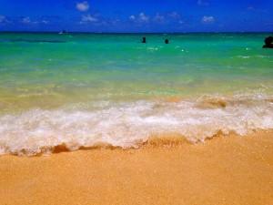 ラニカイビーチ 海 絶景 ハワイ