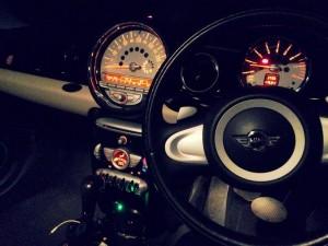 mini R56 内装 ライト