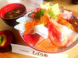 海鮮丼 内海
