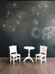 ☆黒板とテーブル☆
