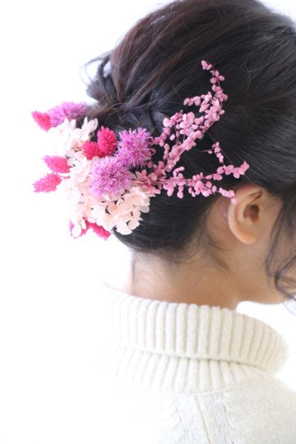 近日販売開始!振袖・婚礼ナチュラル髪飾り!