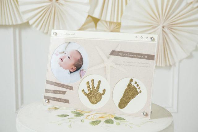 赤ちゃんにお勧めの手足型フレーム、新バージョンが「photo next 2019」に出品されます。