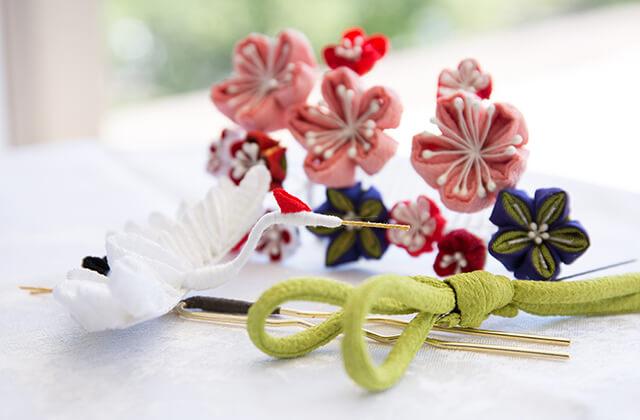記念写真で使える髪飾りの素材4選 七五三・振袖・婚礼など