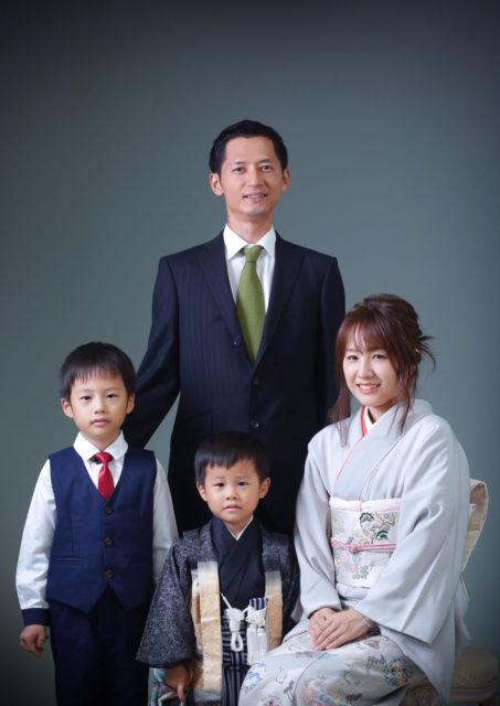家族写真について