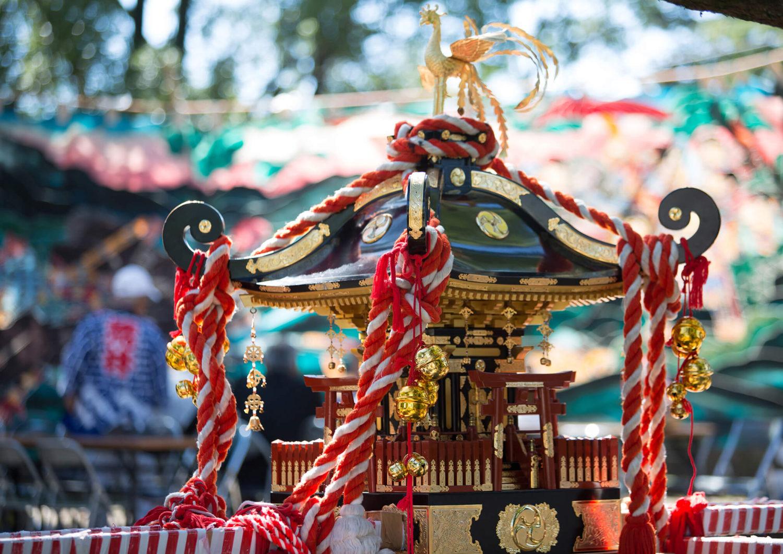 小学生女子が憧れる巫女神楽 知多市尾張八幡神社にて