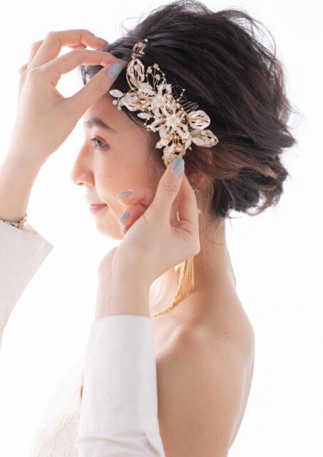 婚礼ヘッドドレス入荷しました❀