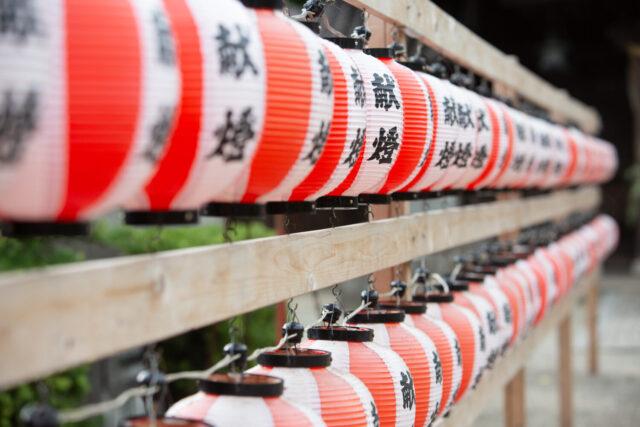 八幡神社の茅輪神事